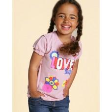 Beatles kids Flowers Love shirt