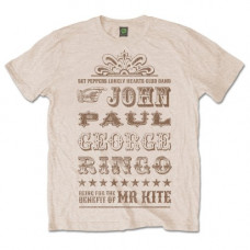 THE BEATLES MEN'S PREMIUM TEE: MR KITE