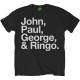 John Paul George & Ringo shirt