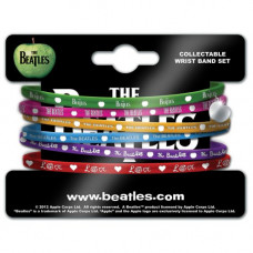The Beatles Gummy Wristbands Apple