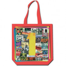 THE BEATLES COTTON TOTE BAG: 1S (WITH ZIP TOP)