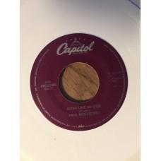 Biker like an icon, White vinyl, Capitol S7-17319
