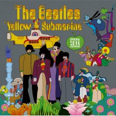 Beatles kalender 2018, official, yellow Submarine