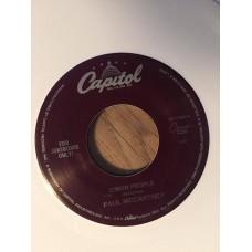 C'mon People, White vinyl, Capitol S7-17489