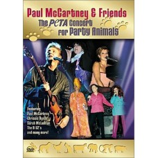 dvd The Peta concert for party animals, Paul McCartney & Friends